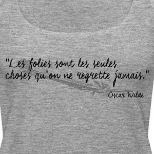 Oscar Wilde - Citation - Débardeur Premium Femme