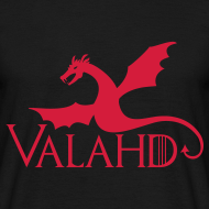 ~ Valahd (fly) - maglietta Game of Thrones