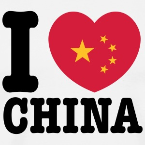 china T-shirts - Premium-T-shirt herr