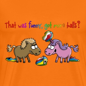 unicorn_another_ball_062015_b T-Shirts - Männer Premium T-Shirt