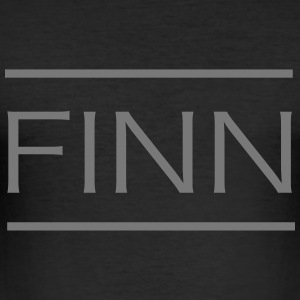 Finn Namen-Shirt - Männer Slim Fit T-Shirt