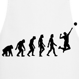 The Evolution of Volleyball  Aprons - Cooking Apron