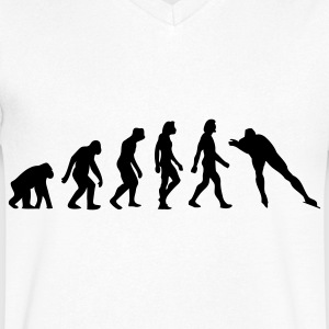 The Evolution of Skating T-Shirts - Men's V-Neck T-Shirt