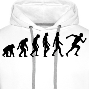 Evolution of Running Sweatshirts - Herre Premium hættetrøje