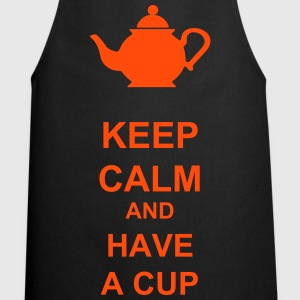 Keep calm and have a cup - Tablier de cuisine