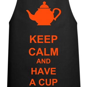 Keep calm and have a cup - Delantal de cocina