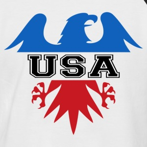 United states Eagle - T-shirt baseball manches courtes Homme