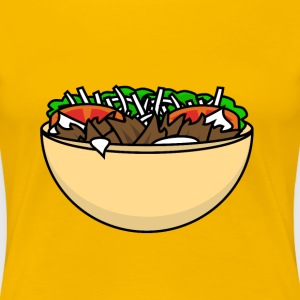 Food Series: Döner T-Shirts - Frauen Premium T-Shirt