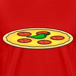 Food Series: Pizza T-Shirts - Männer Premium T-Shirt