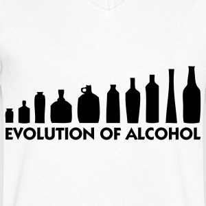 The Evolution of Alcohol T-Shirts - Men's V-Neck T-Shirt