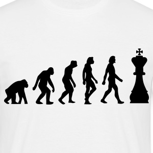 Evolution of Chess Koszulki - Koszulka męska