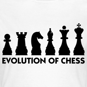 The Evolution of Chess T-Shirts - Women's T-Shirt