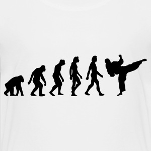 The Evolution of Taekwondo Shirts - Teenage Premium T-Shirt