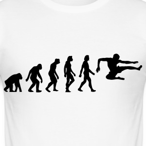 The Evolution of Karate T-skjorter - Slim Fit T-skjorte for menn