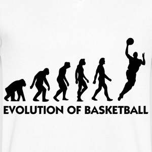 The Evolution of Basketball T-Shirts - Men's V-Neck T-Shirt