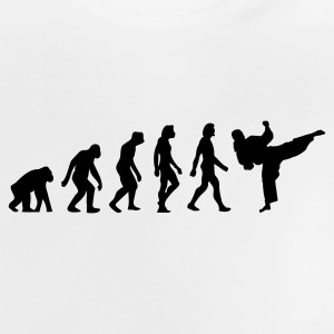 The Evolution of Taekwondo Shirts - Baby T-Shirt