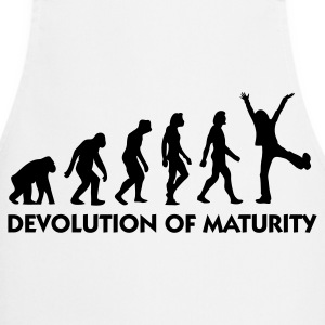 The Evolution of maturity  Aprons - Cooking Apron