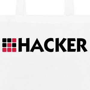 I am a hacker Bags & Backpacks - EarthPositive Tote Bag