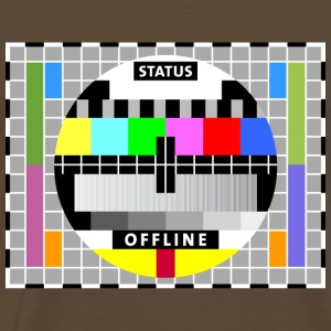 Testbild Display screen test card offline Big Bang T-Shirts - Männer Premium T-Shirt