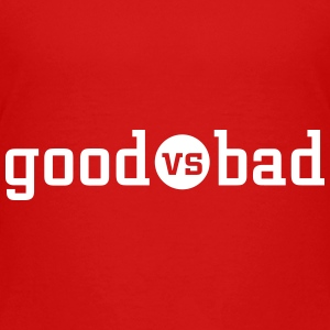 good versus bad T-shirts - Premium-T-shirt tonåring