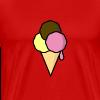 Food: Eis - Männer Premium T-Shirt