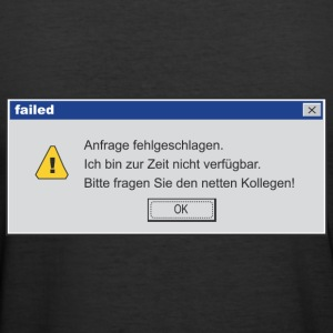 Error Message - Männer Slim Fit T-Shirt