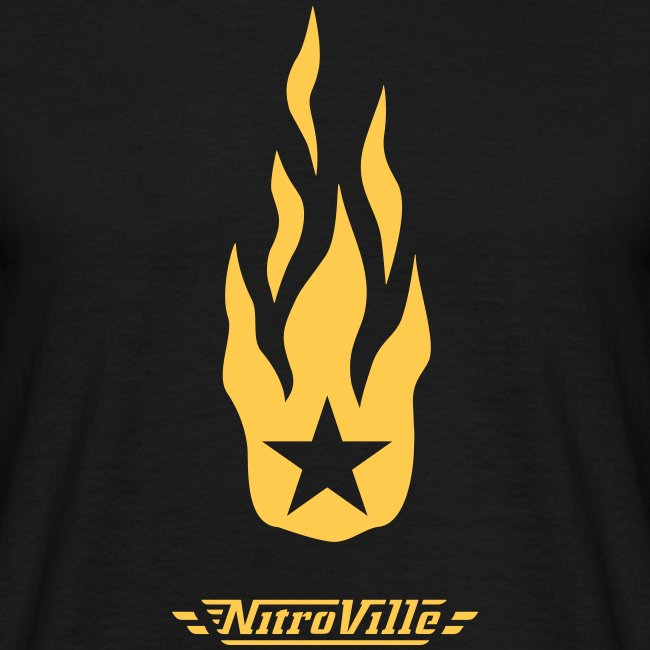 NITROVILLE official t-shirt firebrand version
