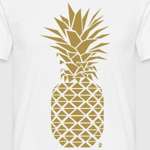 AD Geometric Pineapple  T-Shirts - Men's T-Shirt