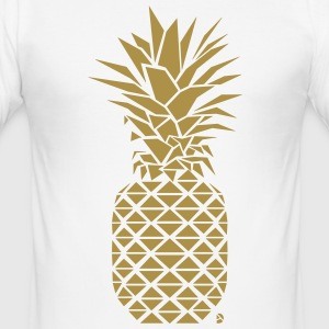 AD Geometric Pineapple  T-shirts - slim fit T-shirt