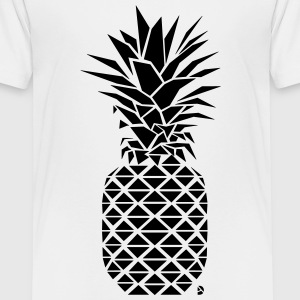 AD Geometric Pineapple  Shirts - Kids' Premium T-Shirt