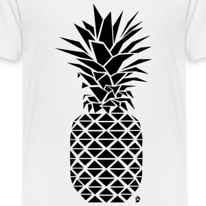AD Geometric Pineapple  Skjorter - Premium T-skjorte for barn