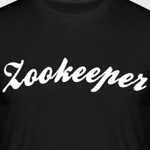 zookeeper cool curved logo - Men's T-Shirt