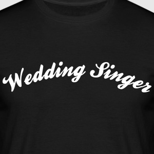 wedding singer cool curved logo - Men's T-Shirt