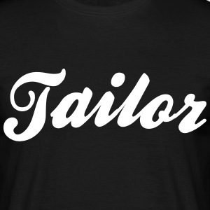 tailor cool curved logo - Men's T-Shirt