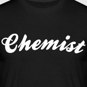 chemist cool curved logo - Men's T-Shirt