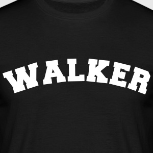 walker name surname sports jersey curved - Männer T-Shirt