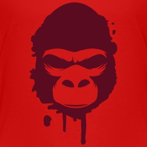Ein Gorilla Kopf Graffiti T-Shirts - Teenager Premium T-Shirt