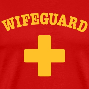 wife guard T-skjorter - Premium T-skjorte for menn