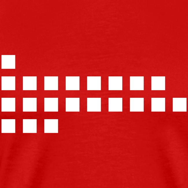 Dots Squares red