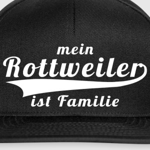 Rottweiler ist Familie - sw-sw - Snapback Cap