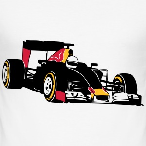 Formela One Racing T-Shirts - Men's Slim Fit T-Shirt