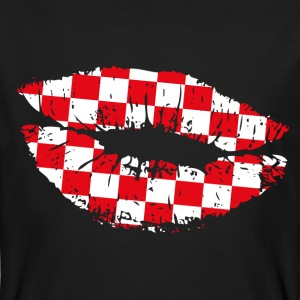 Croatia Kiss Mouth T-Shirts - Männer Bio-T-Shirt