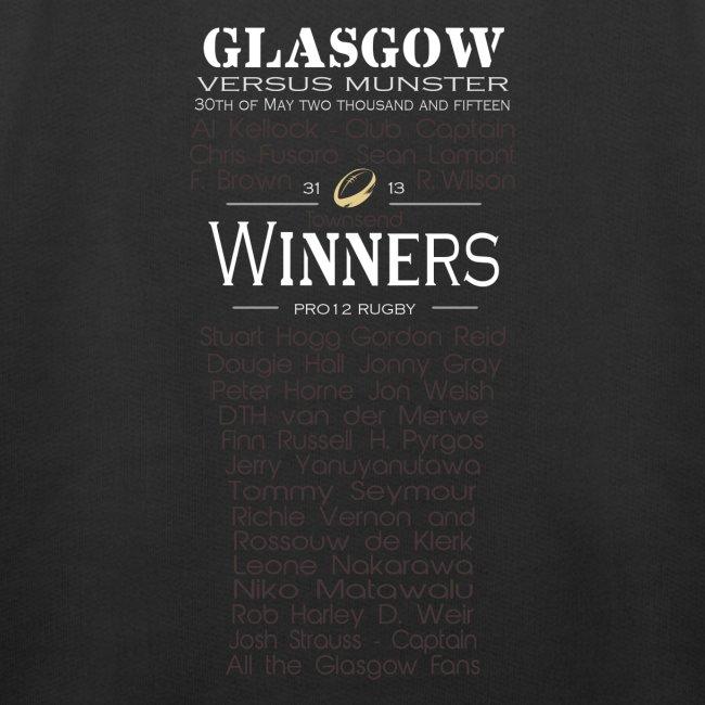 Glasgow PRO12 Winners Glass -KIDS