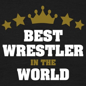 best wrestler in the world stars crown - Men's T-Shirt