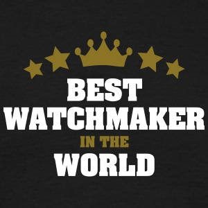 best watchmaker in the world stars crown - Men's T-Shirt