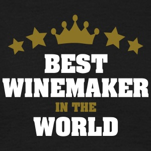 best winemaker in the world stars crown - Men's T-Shirt