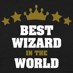 best wizard in the world stars crown - Men's T-Shirt