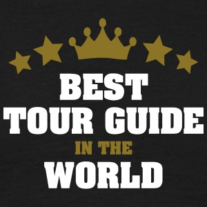 best tour guide in the world stars crown - Men's T-Shirt