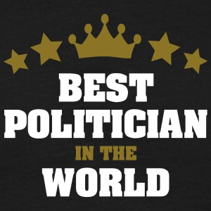 best politician in the world stars crown - Men's T-Shirt