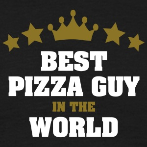 best pizza guy in the world stars crown - Men's T-Shirt